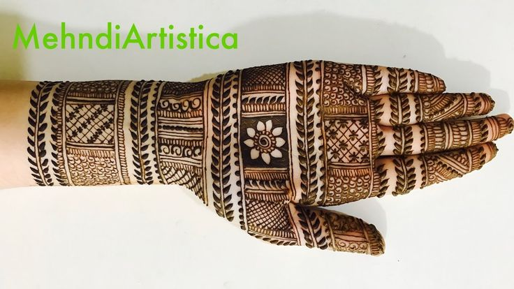 Stylish Simple Mehndi Henna Designs for Hands For Marriage:Mehndi design...