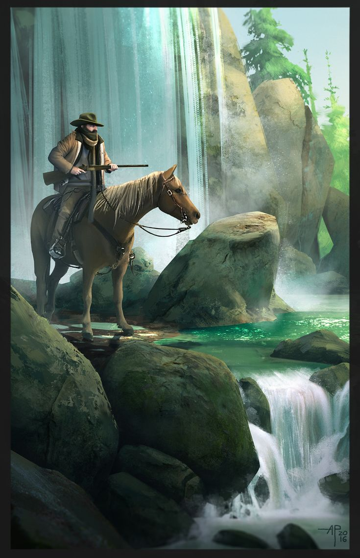 ArtStation - Cowboy doing cowboy stuf !!! 2, Alexandre Pinto