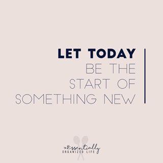 #itsanewday #freshstart