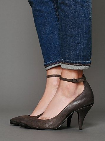 Free People  Leigton Metal Tip Heel