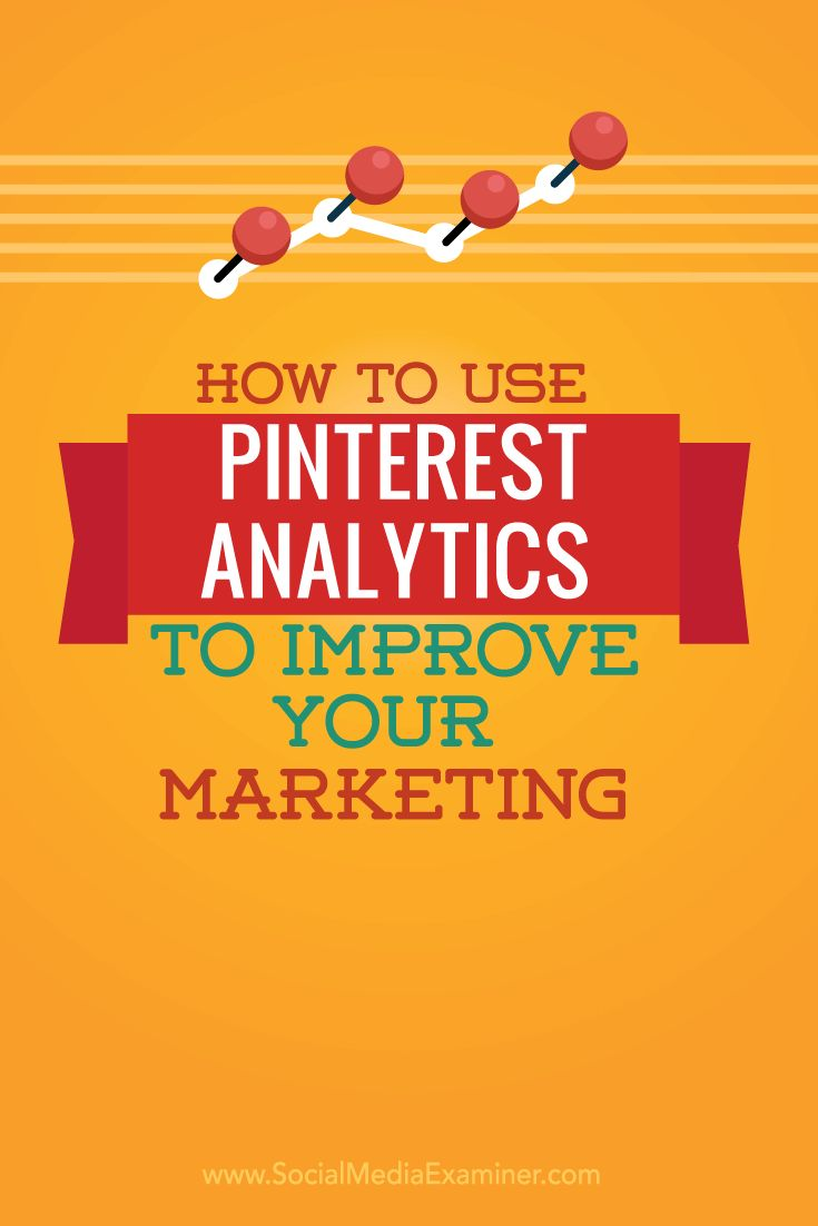 How to use #Pinterest analytics in #DigitalMarketing
