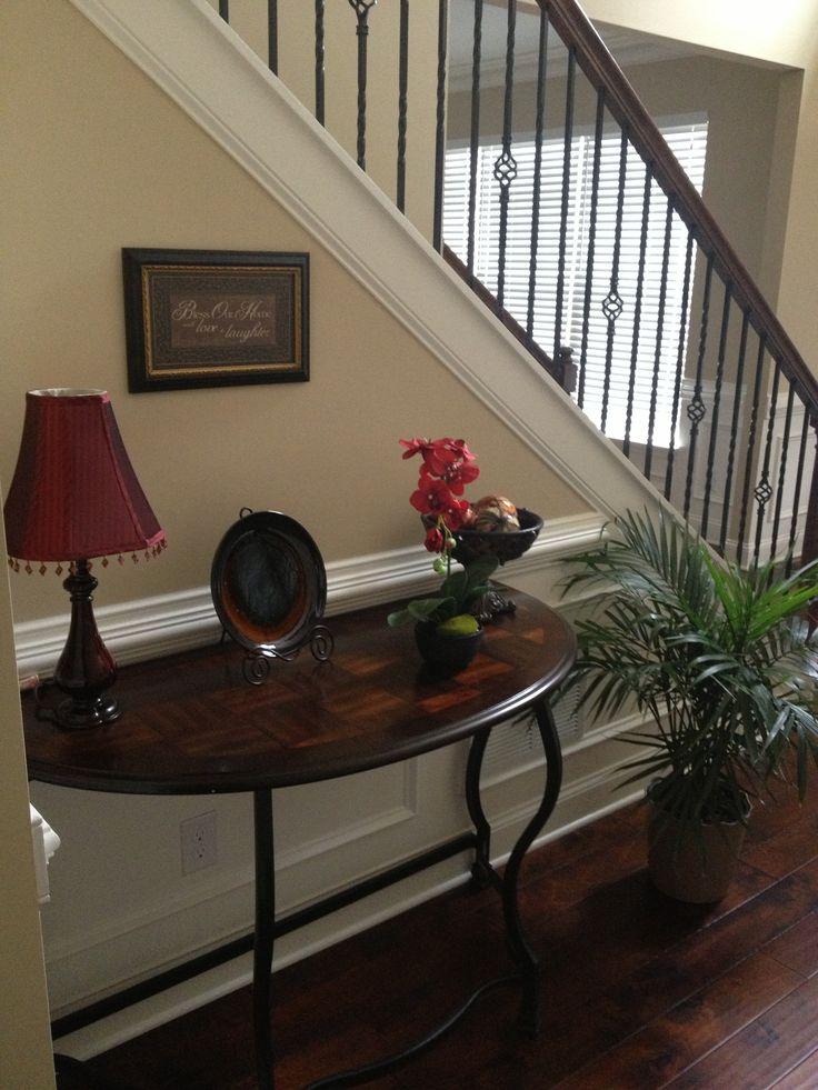 Foyer Table Décor Décor Really Inexpensive · Foyer TablesMoon ShapesHalf ...