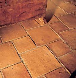 terracotta tile splashback