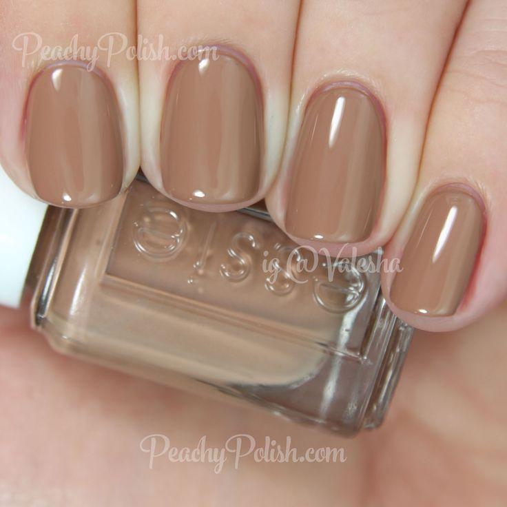 Essie Cocoa Karma | Resort 2015 Collection | Peachy Polish - perfect tan?? #brown