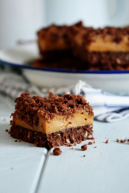 chocolate coconut and caramel slices