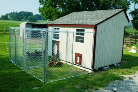 Perfect! Goat & Hen house combined!: Animal Pens, Chicken Coops, Pen Combo, Chicken Houses, Adding Goats, Houses Goats, House Goat, Goat Pen