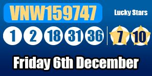 A full run down with breakdown of tonight's #euromillions lottery results, see more information here: http://euromillionshub.com/euromillions-results-6th-december/