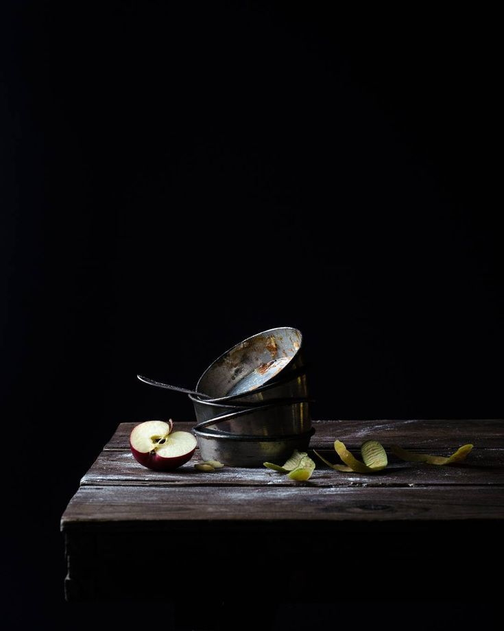 Tarte Tatin Dark And Moody Food Photography Moody Food
