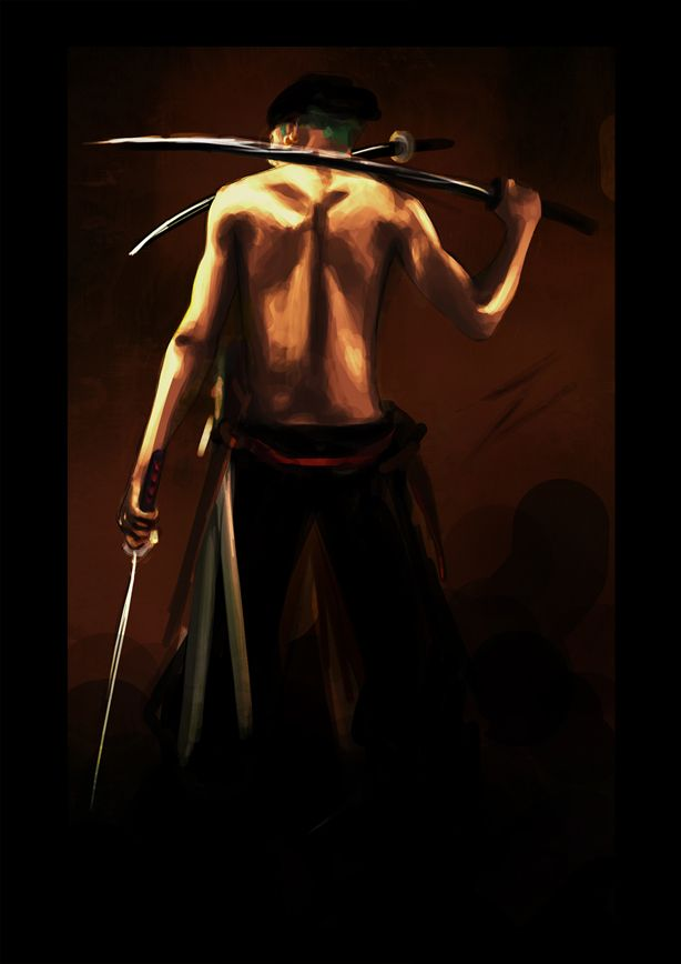 Tags: Anime, ONE PIECE, Roronoa Zoro, Artist Request, One Piece: Two Years Later