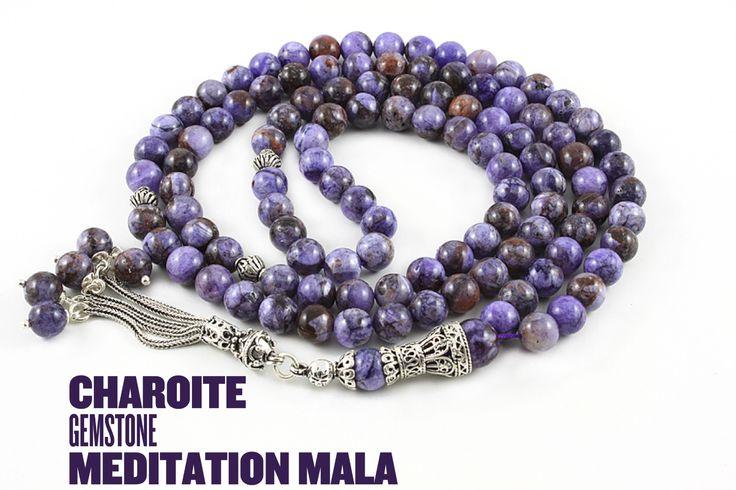 Charoite mala. #meditation #mala #malabeads #charoite