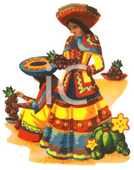 A mexican woman