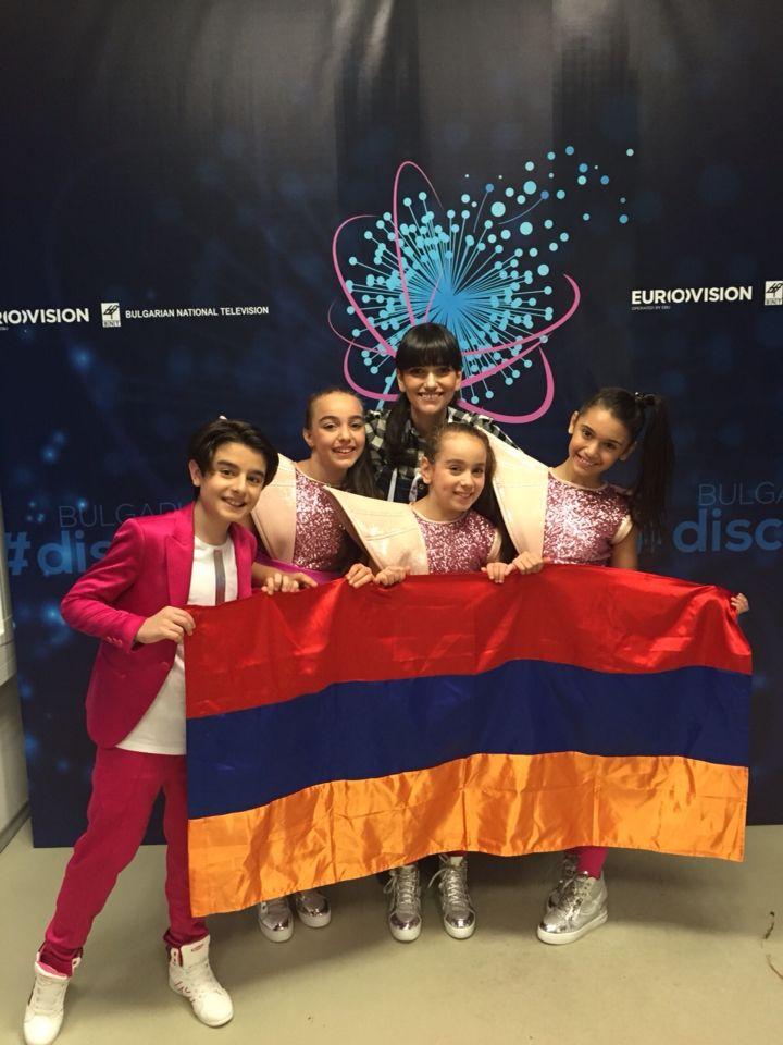 eurovision junior 2015 armenia