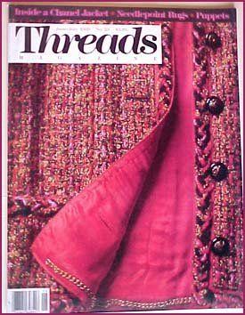 Threads Magazine June/July 1989 No. 23 Inside a Chanel Jacket by Betsy Levine http://smile.amazon.com/dp/B001AVI44W/ref=cm_sw_r_pi_dp_bEkFvb155HD1K