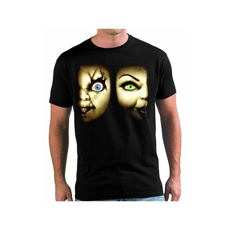 Camiseta Chucky y Tiffany
