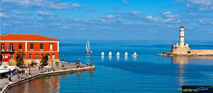 ♦♦Δεύτερη μεγαλύτερη πόλη της Κρήτης,τα πανέμορφα Χανιά,με πληθυσμό περίπου 60.000 κατοίκους,αποτελεί ένα ιδιαίτερο σημαντικό οικονομικό,πολιτιστικό και τουριστικό κέντρο για ολόκληρο το νησί.Βρίσκεται 70 χιλιόμετρα από το Ρέθυμνο και 145 χιλιόμετρα από το Ηράκλειο.Τα αποτελέσματα διαφόρων αρχαιολογικών ανασκαφών,απέδειξαν ότι τα Χανιά κατοικούνταν από την νεολιθική εποχή και έπειτα οι πρώτοι οικισμοί εξελίχθηκαν στην αρχαία Κυδωνία,μία ιδιαίτερα σημαντική μινωική πόλη.♦♦