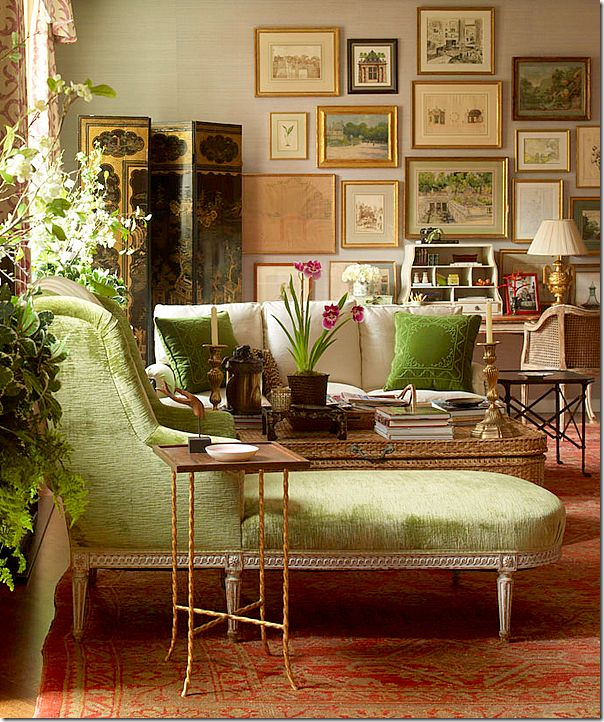 Colorful Rooms Moss: Decor To Adore: My Favorite Green Rooms