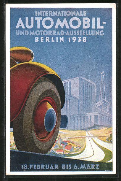 Internationale Automobil- und Motorrad-Austellung Berlin 1938