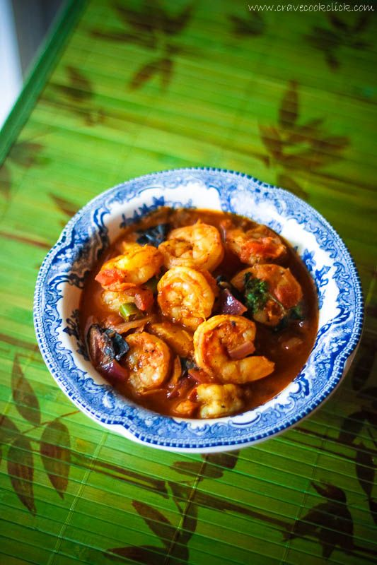 Prawns Masala Curry Recipe- gahhh, this looks so good! I looked up kokum, and think I can substitute some tamarind for it. But will look next time I get to an East Indian grocer (none here :(