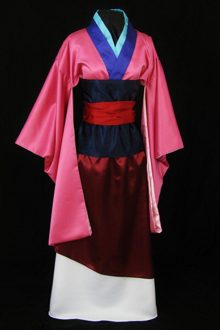 Adult Asian Princess Costume Custom Made via Etsy.