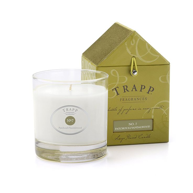 Trapp Candles Signature Home Collection No. 7 Patchouli/Sandalwood Poured Candle, 7-Ounce *** Check out this great image  : aromatherapy