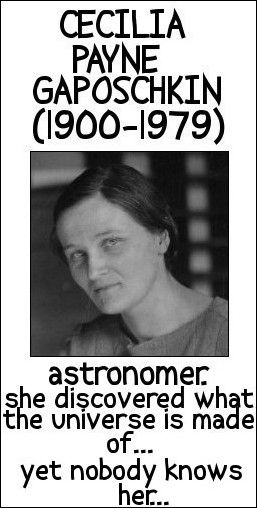 Science textbooks never mention her.... I wonder why?  Sexism-Patriarchy is why.