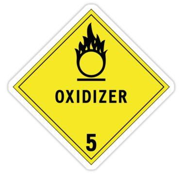 HAZMAT Class 5.1: Oxidizing Agent by Ruben Wills