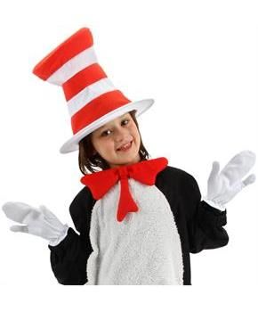 PartyBell.com - Dr. Seuss The Cat in the Hat Movie - The Cat in the Hat Mitts (Child)