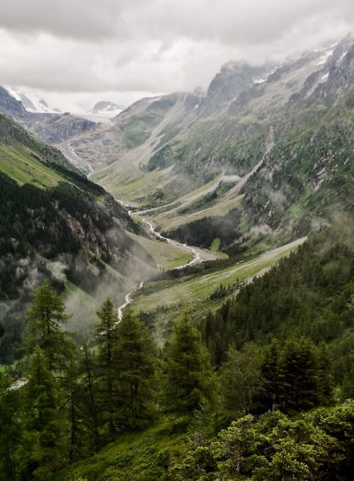 glacial valley: Mountain, Nature, God Is, Green, Beautiful, Graphics Design, Places,  Vale, Bern Switzerland