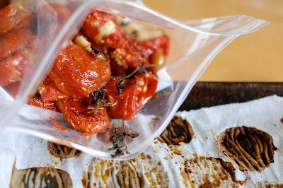 herbed roasted tomatoes to freeze, with alana chernila ...
