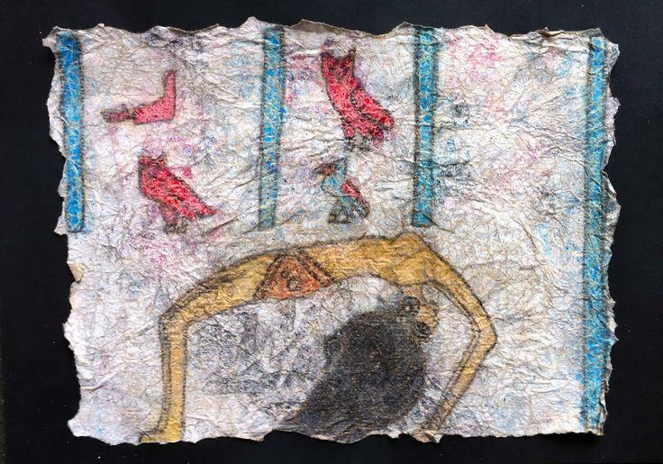 Egyptisk kunst lavet af 4. årgang
