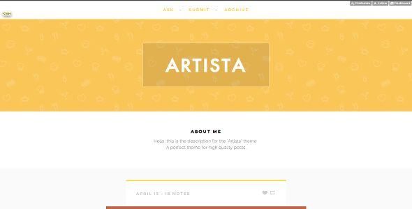 Creative Tumblr Portfolio Themes - http://wordpress-themes.cc/creative-tumblr-portfolio-themes/  Wordpress-Themes.cc