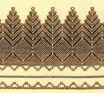 swedish embroidery free patterns | Swedish Weaving / Huck Embroidery Patterns: Free pattern, order