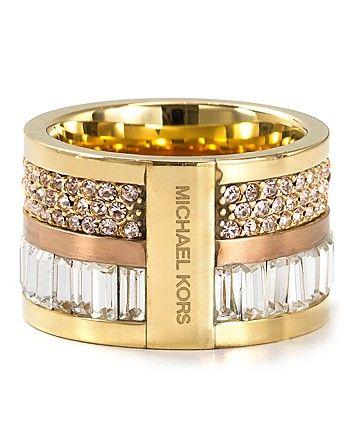 Michael Kors Barrel Ring. I need!