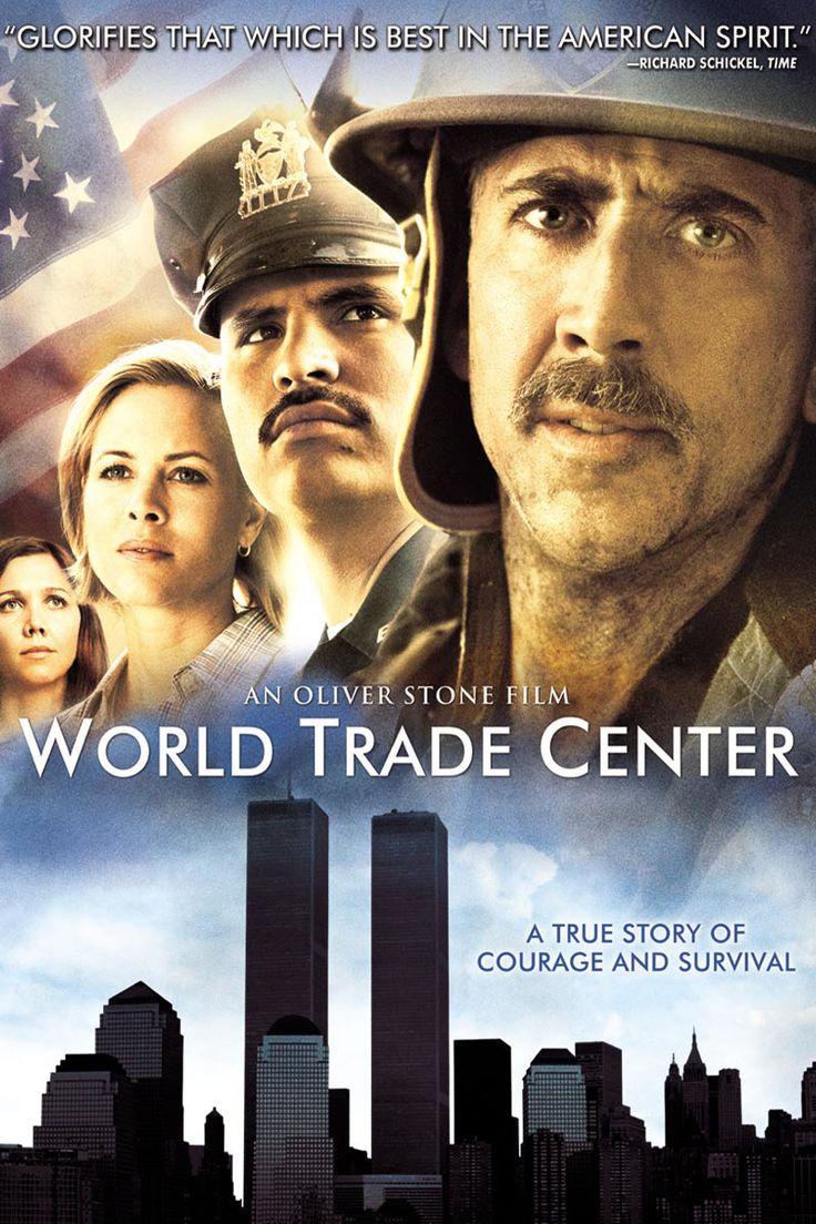 World Trade Center Movie Poster - Nicolas Cage, Maggie Gyllenhaal, Maria Bello  #WorldTradeCenter, #NicolasCage, #MaggieGyllenhaal, #MariaBello, #OliverStone, #Drama, #Art, #Film, #Movie, #Poster