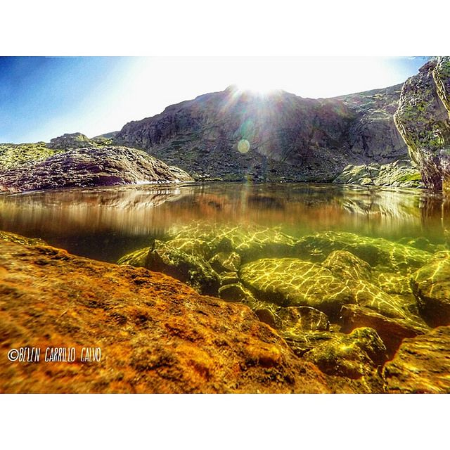 Laguna grande de Peñalara, Parque Nacional Sierra de Guadarrama. Belén Carrillo Calvo
