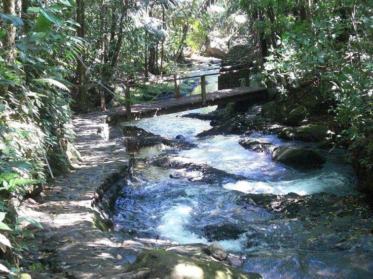 Hot springs at Termales del Bosque en Quesada, Costa Rica! Yes!