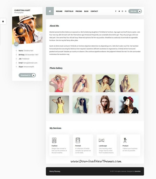Best 25+ Photographer resume ideas on Pinterest Cv structure - resume website example