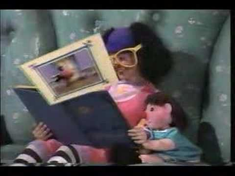 The Big Comfy Couch.    Awwwww. I want to be little again watching this. I'd do the clock stretches with her all the time.