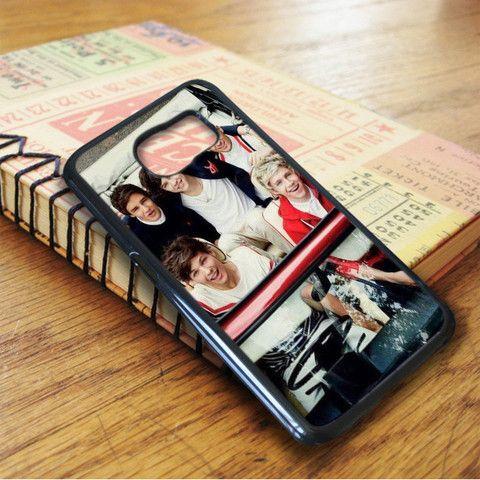 1d One Direction Harry Liam Zayn Nial Louis Samsung Galaxy S7 Edge Case