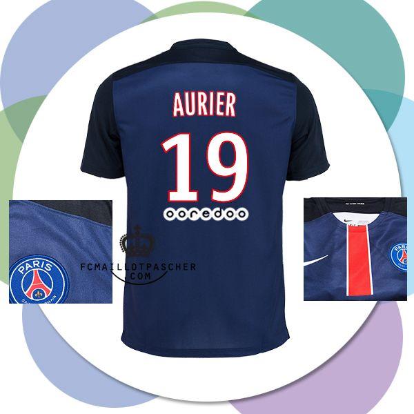 Site Officiel maillot du PSG 2016 AURIER Domicile rétro
