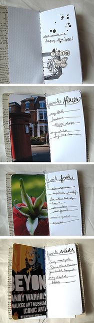 love this little #journal. love the #photos and #handwriting.