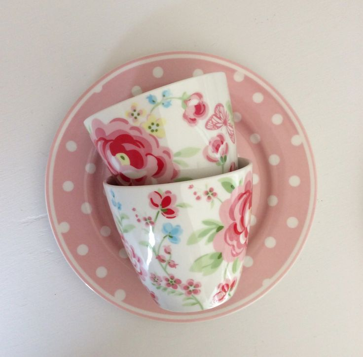 GreenGate Latte Cup Summer White - Pretty Home StylePretty Home Style