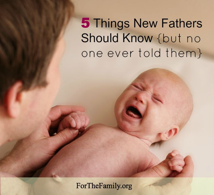 5 Things New Fathers