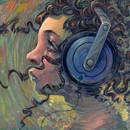 Illustration by AARON JASINSKI  music moves everything
