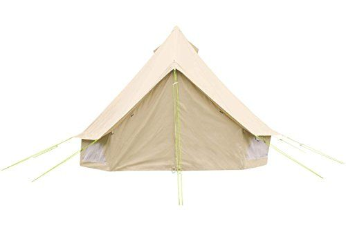 3m Bell Tent with zipped in ground sheet. 100% Cotton Canvas. Bell Tent for couples, festivals or friends. Bell Tent for camping. Bell Tent for the garden. Excellent Value. Life Under Canvas