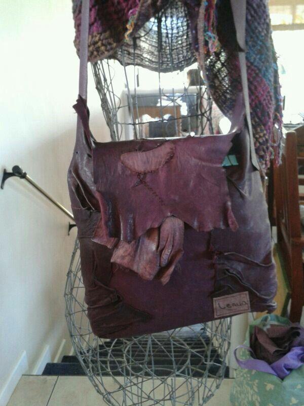 Lenua' leather bag