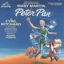 March 7,1955 – The 1954 Broadway musical version of Peter Pan, starring Mary Martin, is presented on television for the first time by NBC (also the first time that a stage musical is presented in its entirety on TV exactly as performed on stage). The program gains the largest viewership of a TV special up to that time, and becomes one of the first great television classics.