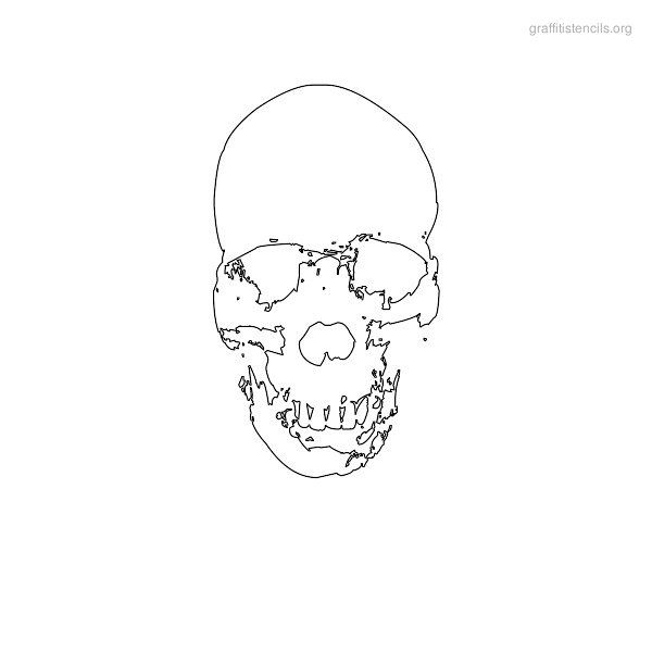 Graffiti Stencils Skull 1000+ ideas about Skul...