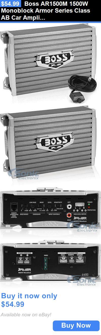 Best 25 car amplifier ideas on pinterest car stereo speakers car amplifiers boss ar1500m 1500w monoblock armor series class ab car amplifier car audio amp sciox Gallery