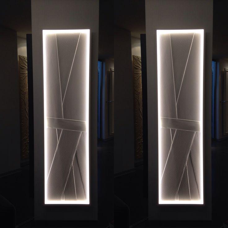 Roc LED plissé